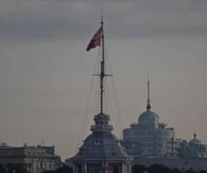 Реставрация Флажной башни в Петропавловской крепости началась