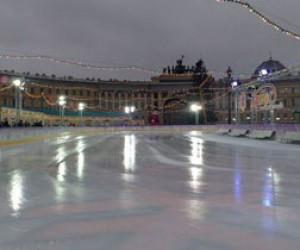 Новогодний каток на Дворцовой и многое другое