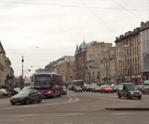 На Лиговском сломался автобус, движение парализовано