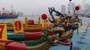 В Питере китайцы погоняют на лодках-драконах?