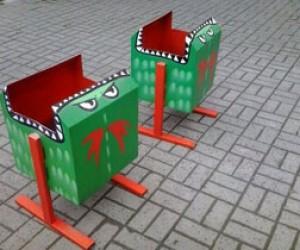 Питерские урны-«мусороеды»