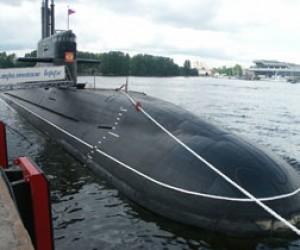 На воду спущена подлодка «Новороссийск»