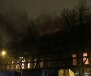 Пожар на Васильевском острове оставил без связи абонентов «Ростелекома»