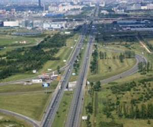На Пулковском шоссе построят дорожную развязку?
