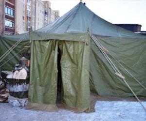Первый пункт обогрева для бездомных