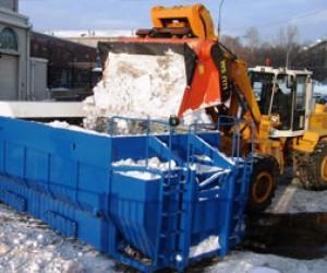 Новая снегоплавильная станция