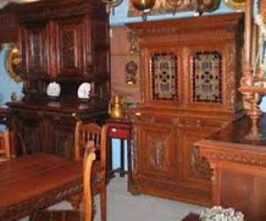 Выставка старинной мебели в Петропавловской крепости