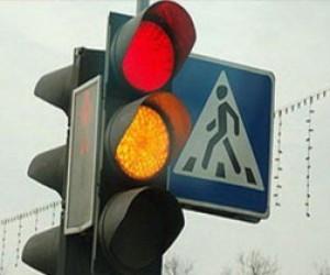 Новые светофоры на Васильевском острове