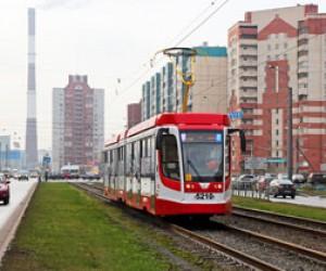 Рабочие заасфальтировали трамвайные пути