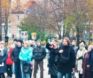 Жители Петербурга протестуют против строительства в «волчьем логове»