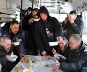 Первый ночной автобус для бездомных