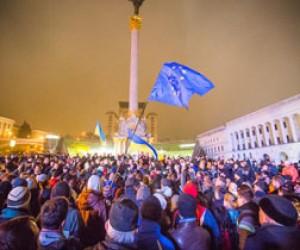 Акция солидарности с Евромайданом