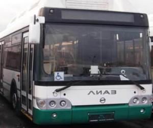 Первая партия новых газомоторных автобусов прибыла