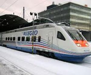 Обрыв проводов в Финляндии: поезда Allegro опаздывают