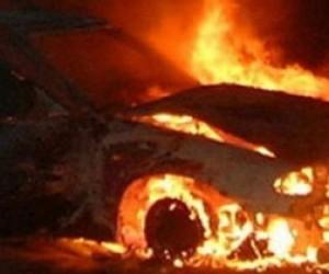 Тело полицейского найдено в сгоревшем автомобиле