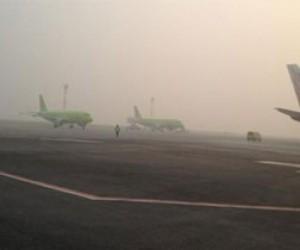 Из-за сильного тумана в Пулково задерживают рейсы