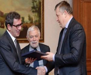 Полтавченко встретился с французским послом