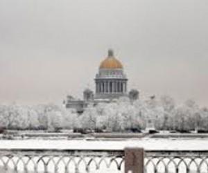 Придёт ли в Петербург зима?