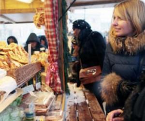 День Риги на Рождественской ярмарке в Питере