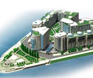В Санкт-Петербурге презентован дизайн комплекса «Леонтьевский мыс»