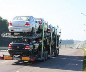В Питере угнали автовоз с шестью новыми Nissan