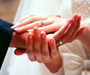 375 браков – в День влюблённых