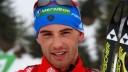 Биатлонист Дмитрий Малышко привез в Питер свою золотую медаль