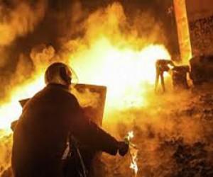 Ночью горела «Почта России»