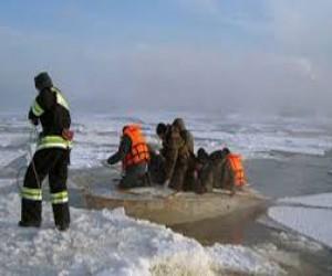 В Петербурге запрещено выходить на лёд