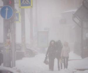 Петербург пережил сильнейший снегопад