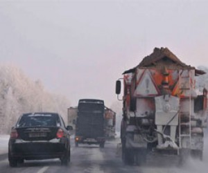 Проблема соли на дорогах снова актуальна
