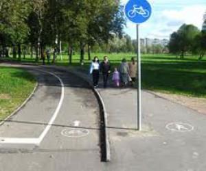 Про велодорожки в Питере забыли