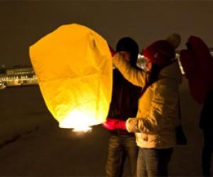 В Питере запрещены китайские фонарики