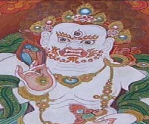 Буддийское божество в Петербурге