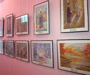 Выставка картин на Моховой