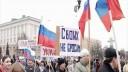В Петербурге проходят митинги в поддержку русскоязычных граждан Украины