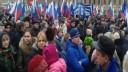 Массовый митинг в поддержку ввода войск в Украину