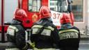 В Невском районе вспыхнули склады