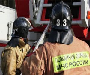 Из-за пожара в бизнес-центре погиб мужчина