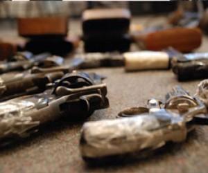 В Питере арестована коллекция раритетного оружия