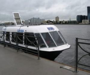 В Питере презентуют новый аквабус