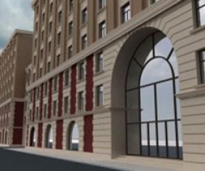 Новый многофункциональный комплекс в историческом центре