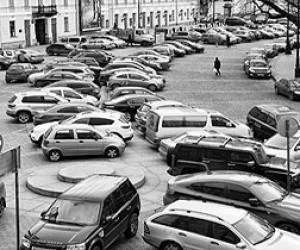 Первые платные парковки в Петербурге