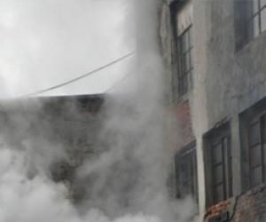 Пожар в коммуналке на Марата