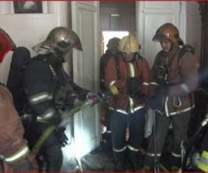 Два пожара в Приморском районе
