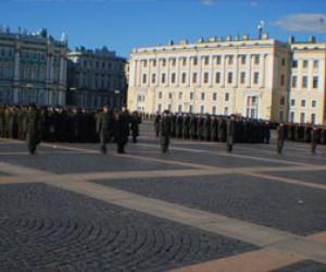 Репетиция парада военной техники