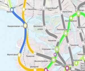 Станцию метро «Новокрестовская» достроят к 2017 году