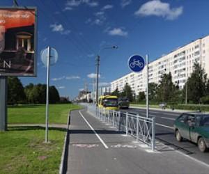В Питере увеличат протяжённость велодорожек