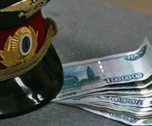 Полицейский вымогал полмиллиона рублей