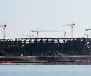 «Зенит-Арену» достроят к маю 2016 года